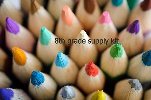 8th grade supply kit