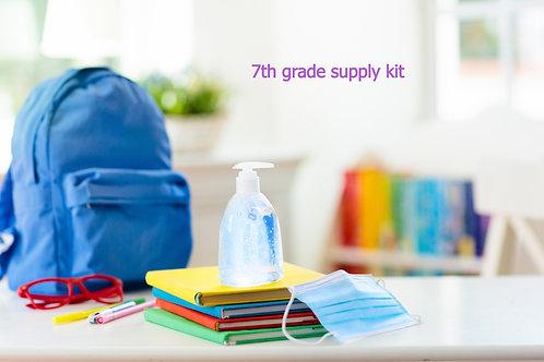 7th Grade Supply Kit