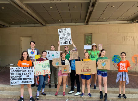 CMS Students March in Climate Strike