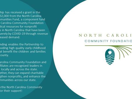 Healing Communities Grant Received