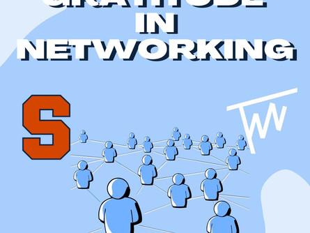 Gratitude in Networking