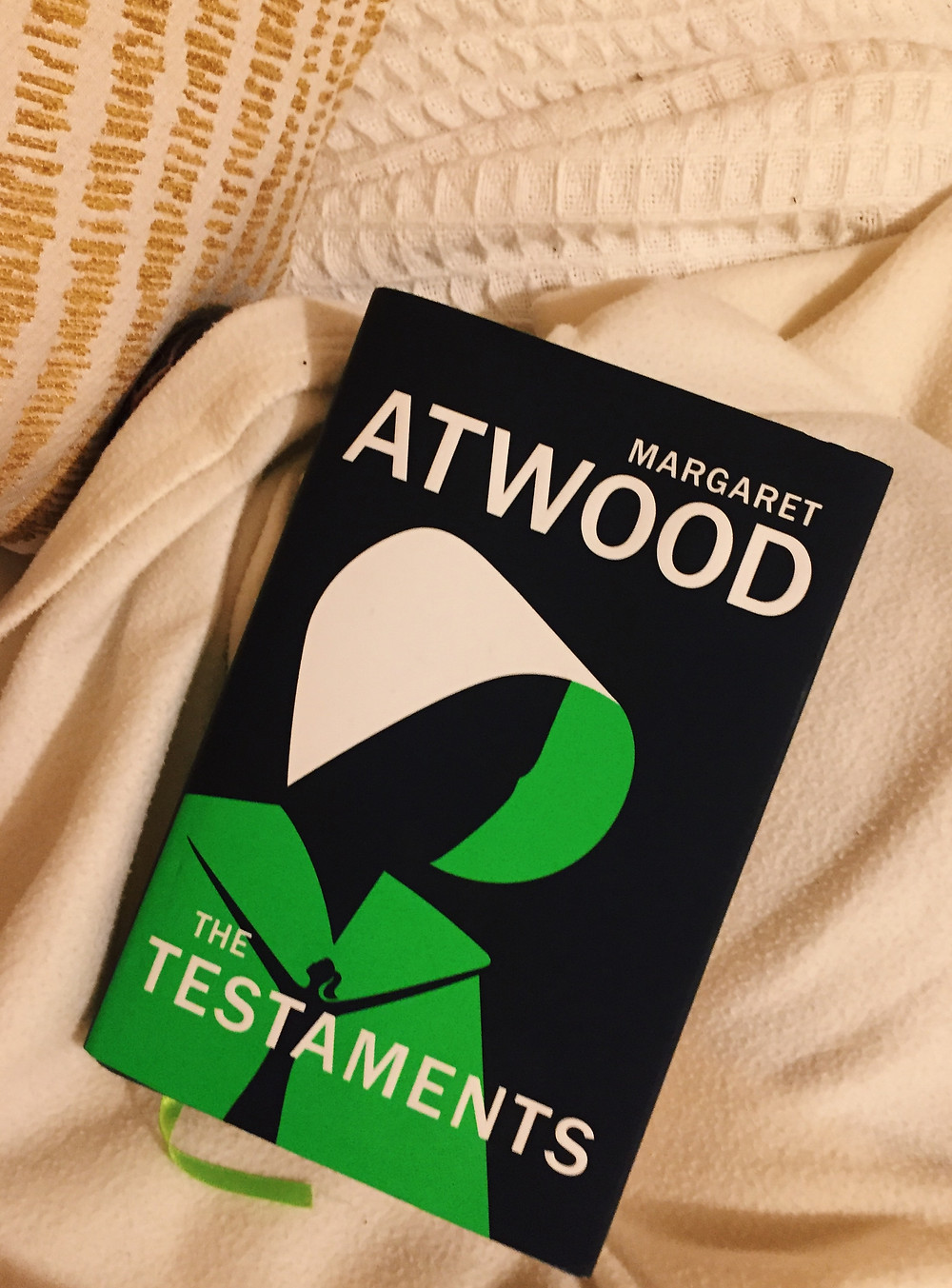 The Testaments by Margaret Atwood Book Cover