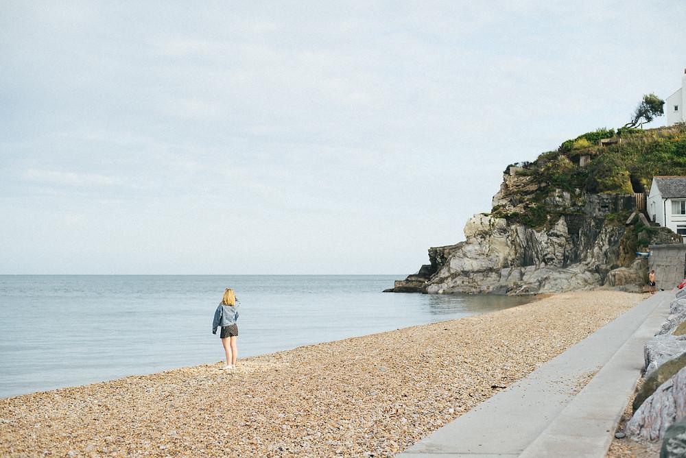 Beach views in Devon