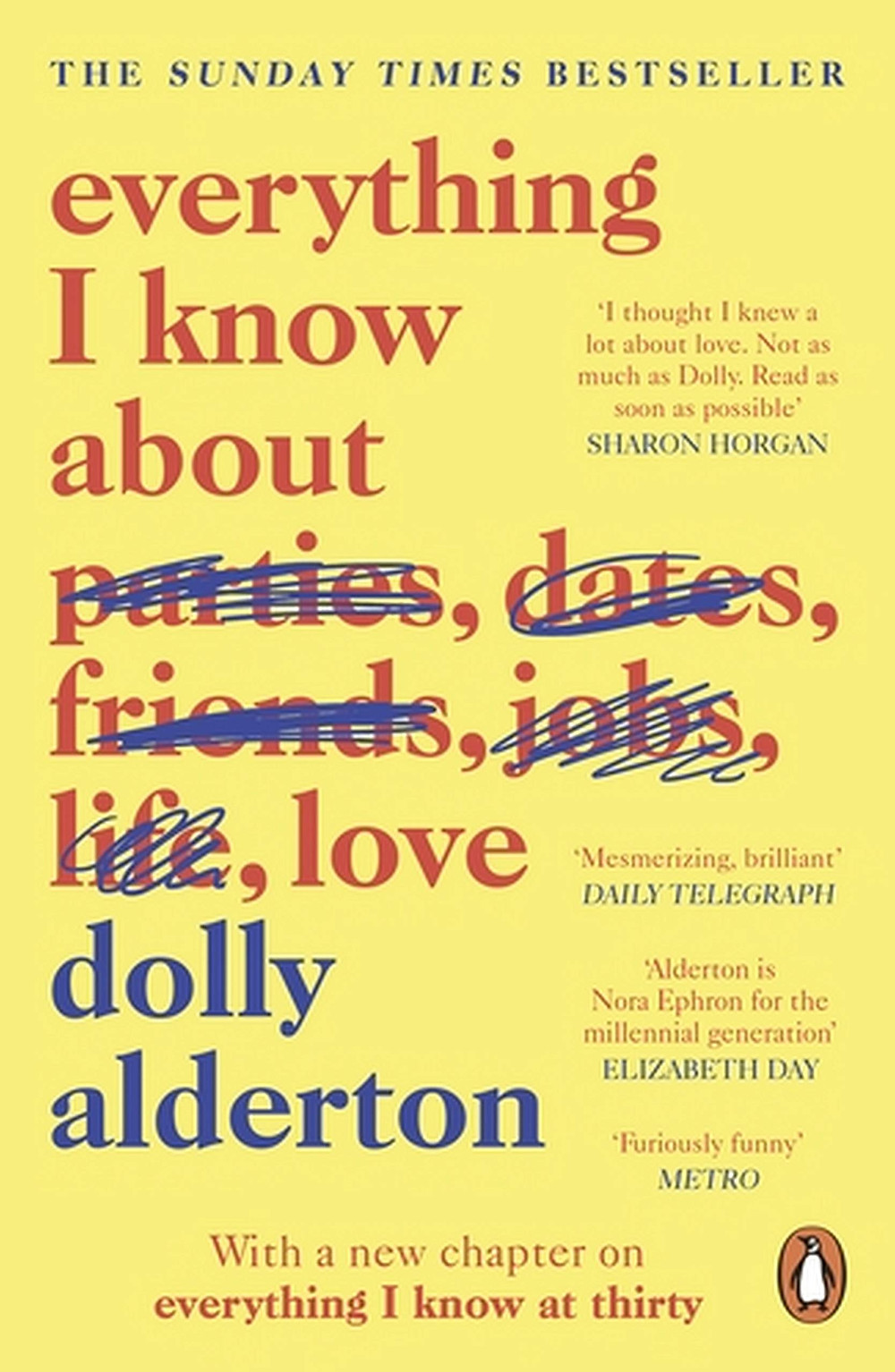 Everything I Know About Love Dolly Alderton Book Review Written by Han