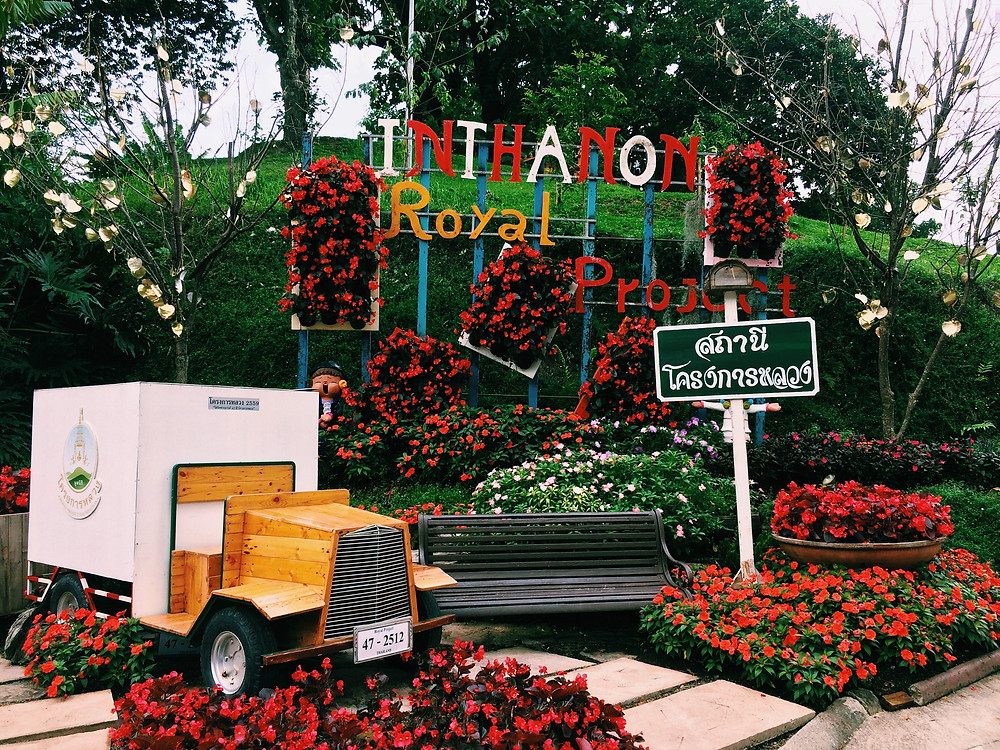 Doi Inthanon National Park in Chaing Mai, Thailand - Written by Han