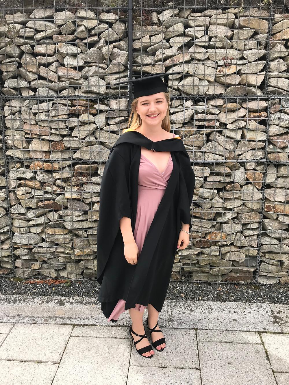 Graduating from Falmouth University