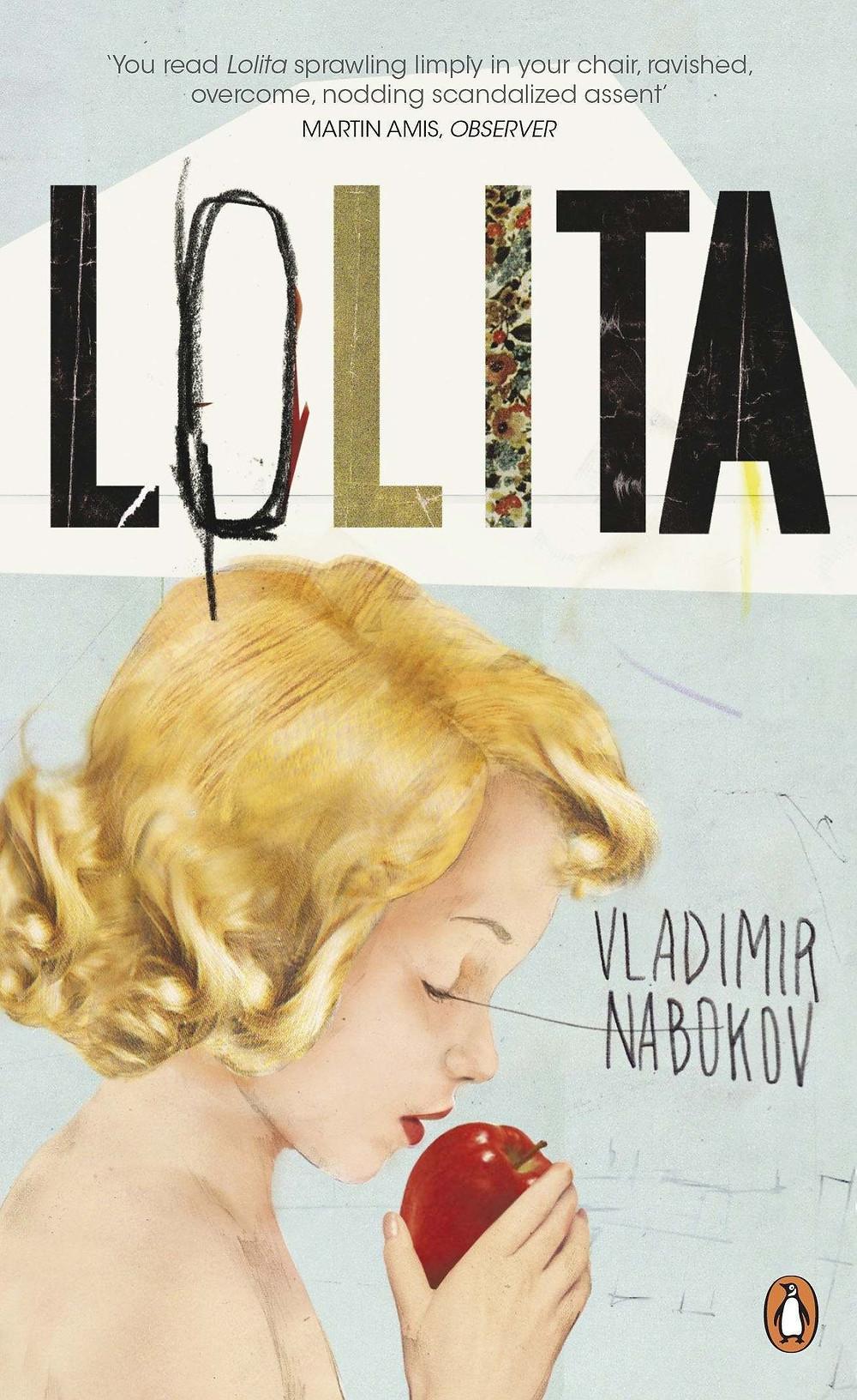 Lolita by Vladimir Nabokov Book Cover