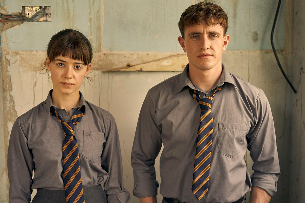 Connell and Marianne from Normal People on BBC