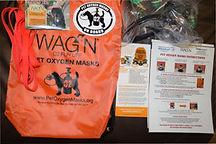 We donated pet masks to HVFD