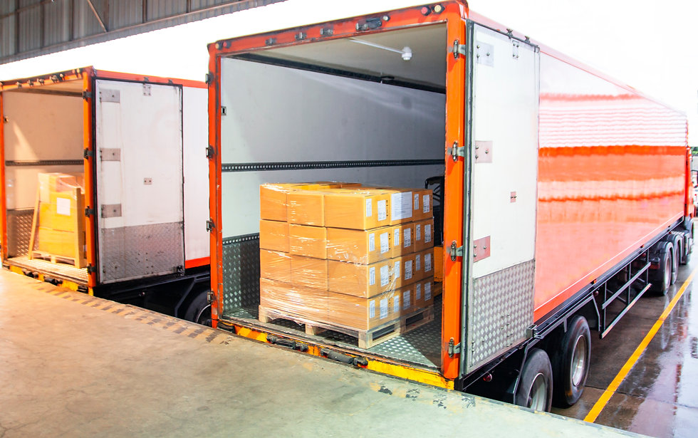 Road freight industry logistics and tran