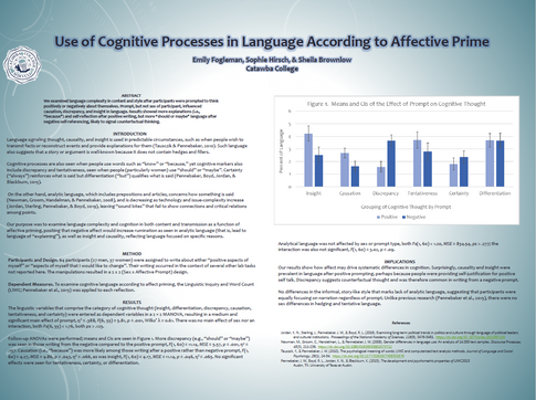 Use of Cognitive Processes in Language According to Affective Prime