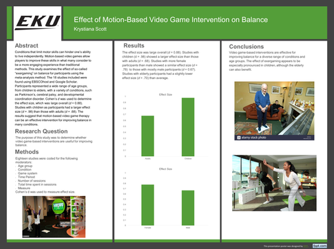 Effect of Motion-Based Video Game Intervention on Balance