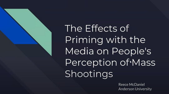 The Effects of Priming with the Media on People's Perception of Mass Shootings
