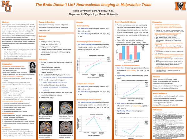 The Brain Doesn't Lie?: Neuroscience Imaging in Malpractice Trials