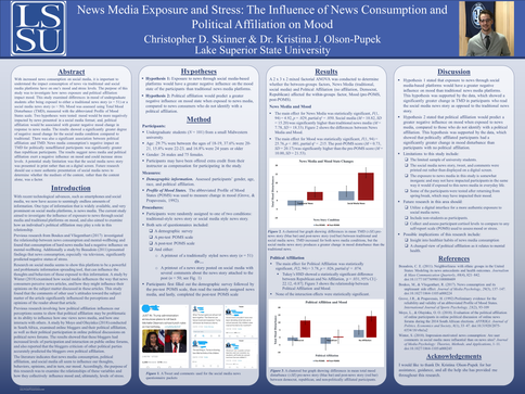 News Media Exposure and Stress: The Influence of News Consumption and Political Affiliation on Mood