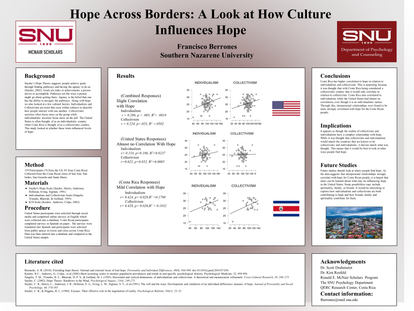 Hope Across Borders: A Look at How Culture Influences Hope