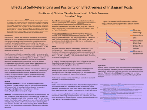 Effects of Self-Referencing and Positivity on Effectiveness of Instagram Posts