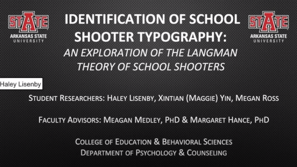 Identification of School Shooter Typography: An Exploration of the Langman Theory of School Shooters