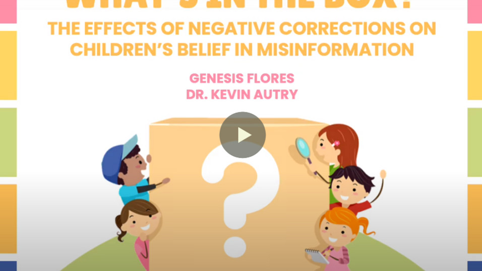 What's in the Box? The Effects of Negation on Misinformation Belief in Children