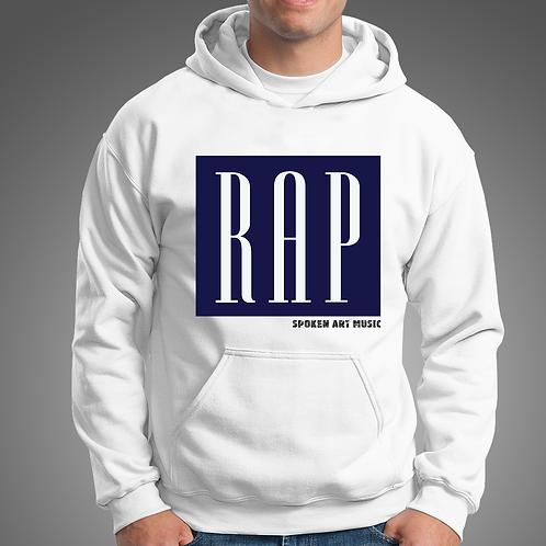 Spoken Art Rap Hoodie_White