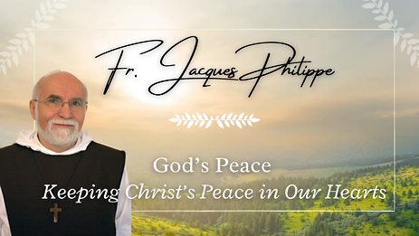 1. Keeping Christ's Peace in Our Hearts