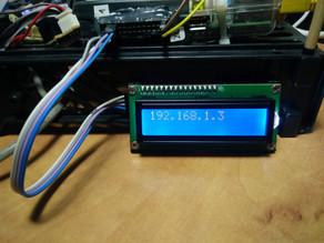 הצגת מידע שימושי מה-RPi על LCD 1602
