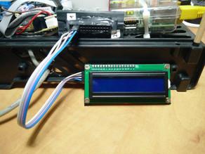 חיבור מסך LCD 16x2 עם מודול i2c ל-RPi