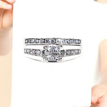 Set de anillos bodas.