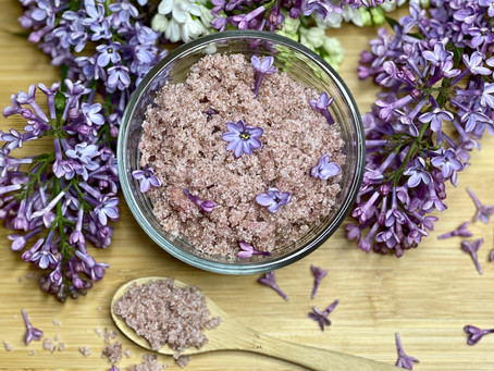 Recipe: Lilac Sugar from Foraged Flowers