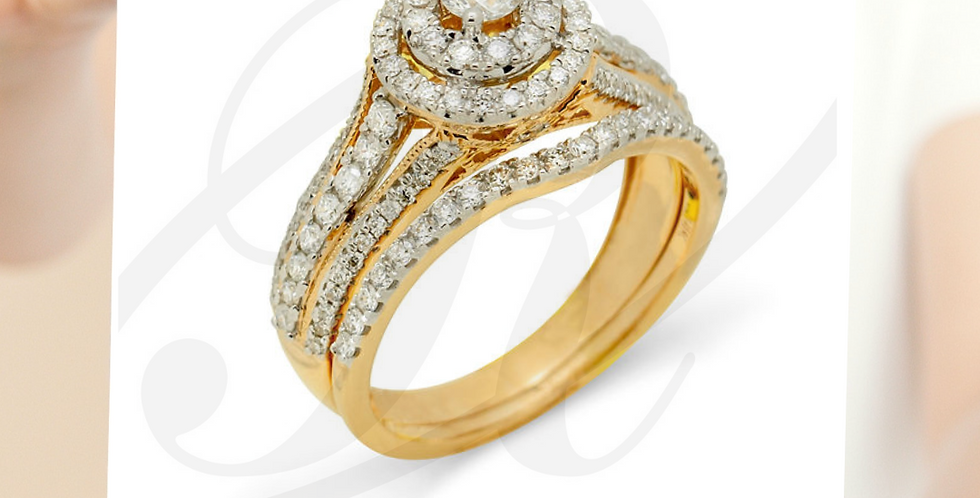 Set de anillos de compromiso JL82415