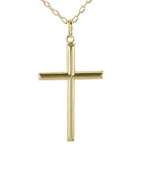 Crucifijo en oro 18k