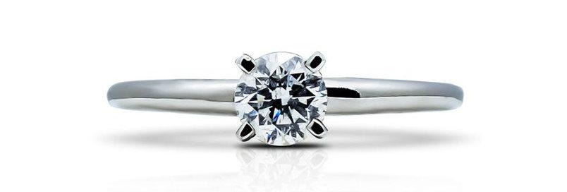 Anillo solitario diamante 35315