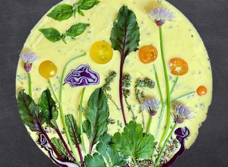 Gardenscape Quiche: Beautiful Edible Art