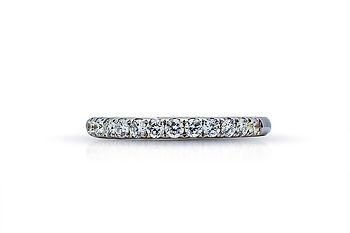 Aro matrimonial de diamante