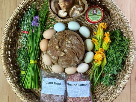 Seasonal Saturday: Preparing for One Week of Local Foods