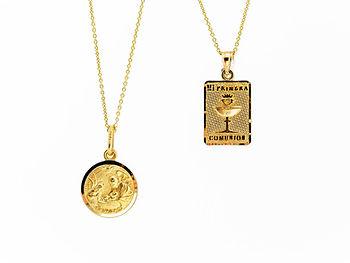 Medallas circular o rectangular