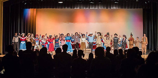 "St. John's Drama's production of ""Annie Get Your Gun"" opens to a standingovation"