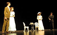 one act, competition, festival, arlington diocese, The Importance of Being Earnest