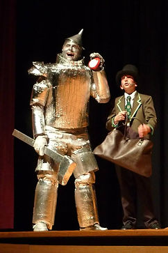 drama club, Wizard of Oz, tin man, wizard, philip asper, ben clark, sjdc, St. John's Drama Club, St John's