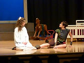 Fall 2014, Warren County High School, playscripts, Peter Pan and Wendy, Madison Velloza, Gabriella Knowles