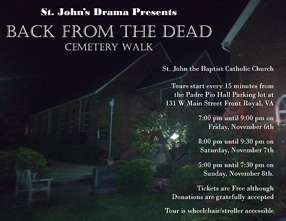 Back from the Dead Cemetery Walk