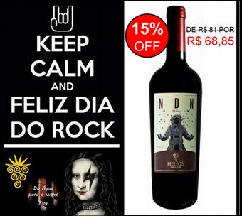 Rock e Vinho - Promoção de Vinho