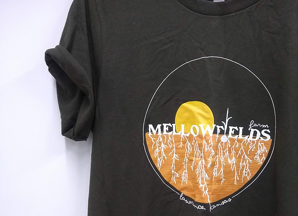Mellowfields T-shirts - Olive Green