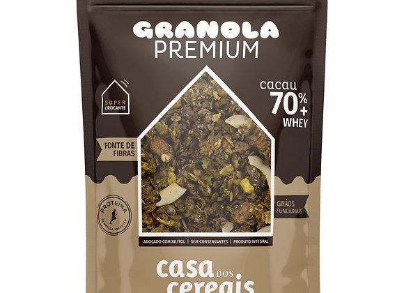 Granola Premium Cacau 70% + Whey - 200gr