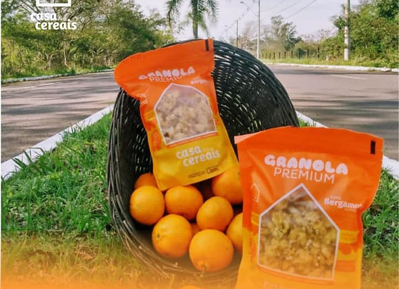 Granola Premium com bergamota - 200gr