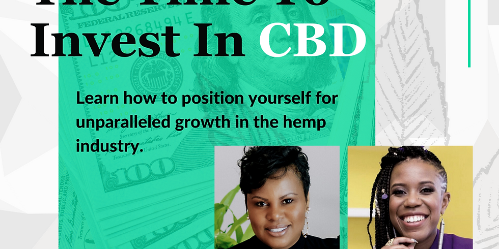 Why Now Is The Time To Invest In CBD