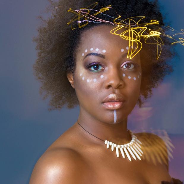 Black Panther Fantasy Photoshoot