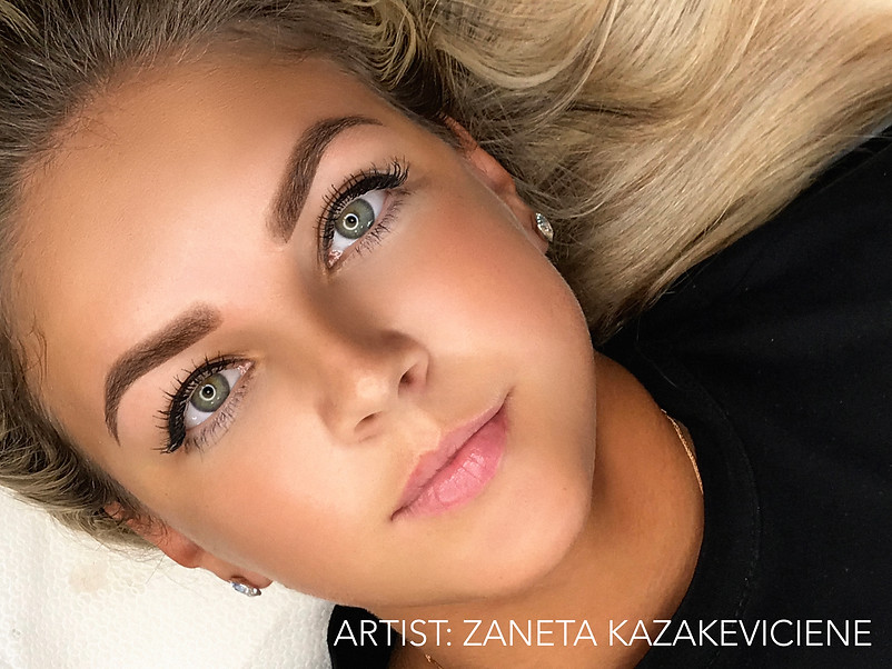 Eyebrows - Zaneta Kazakeviciene