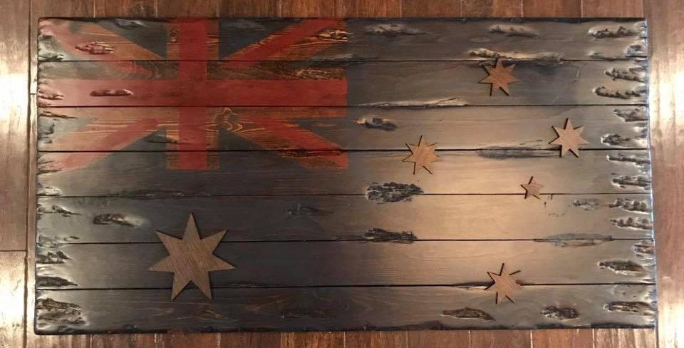 Aussie Flag 4'