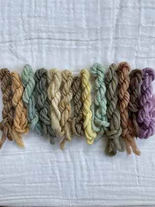 Natural Dyeing in the Kitchen - ANIMAL FIBERS